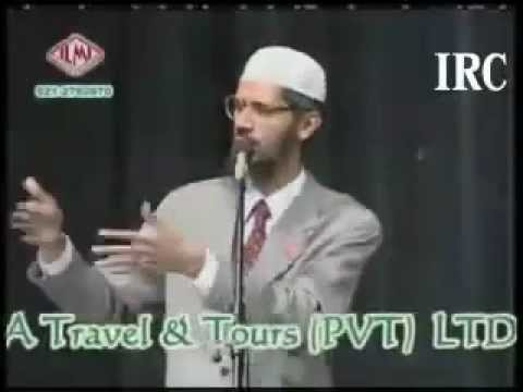 Dr Zakir Naik vs Dr William Campbell in Urdu Hindi part 7
