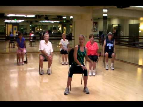 "Senior Fitness Class Routine to ""Wonderful World"" by Sam Cooke"