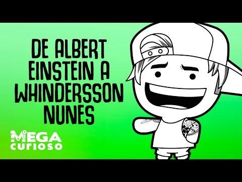 De Albert Einstein a Whindersson Nunes -  A teoria dos seis graus de separação