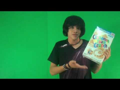 Cinnamon Toast Crunch Commercial (BLOOPERS!!!)