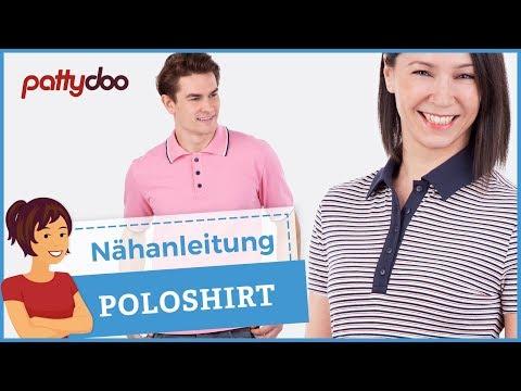 Poloshirts für Damen & Männer nähen - Anleitung für Kragen, Knopfleiste und Schlitze