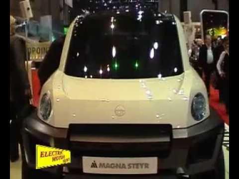 Electric Motor News n° 10 2008   Magna Steyr Mila Alpin (видео)