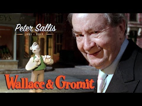Wallace & Gromit's tribute to Peter Sallis