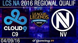 Cloud9 vs EnVy - LCS NA Regional Qualifiers - Day 2