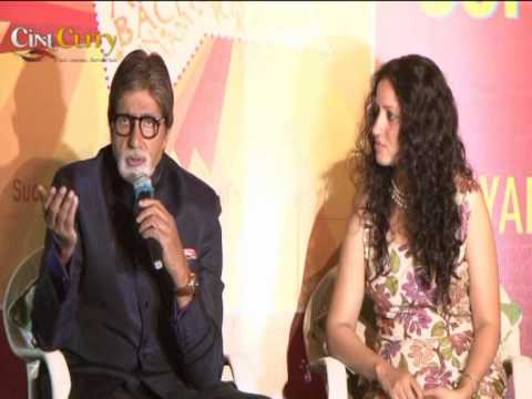 'Supertraits Superstars' Book Launch│Amitabh Bachchan, Priyanka Sinha