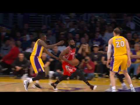 James Harden Dishes Out a Career-High 17 Assists in Loss to Lakers