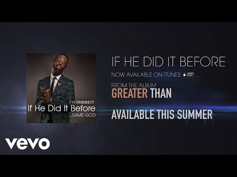 If He Did It Before (Same God) (Lyric Video)