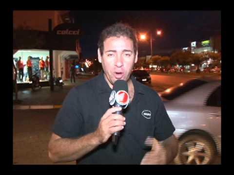 Acidente entre uma ciclista e uma carro quase termina em tragédia em Lucas do Rio Verde