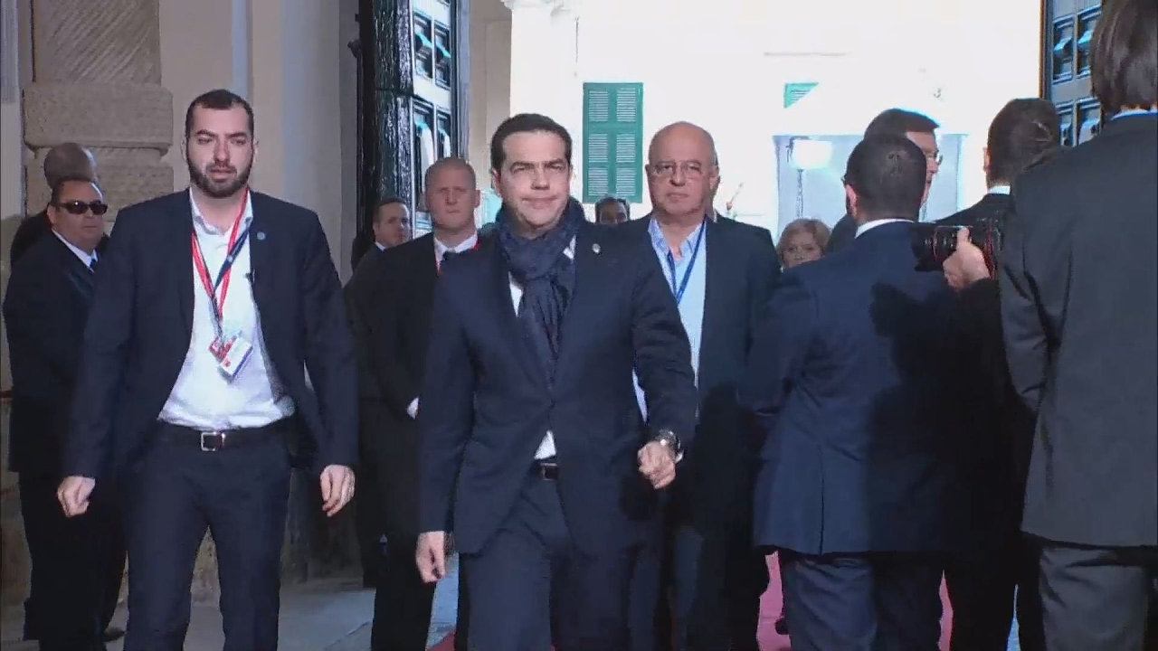 Ο Αλ.Τσίπρας στη Μάλτα