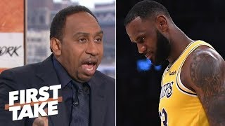 Stephen A.: LeBron didn't choke in overtime against Spurs   First Take
