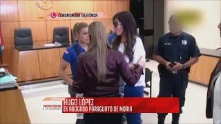 Habla el ex abogado de Moria Casán desde Paraguay