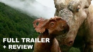 Walking with Dinosaurs 3D Official Trailer 2013 + Trailer Review : HD PLUS