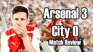 Arsenal For The Title! Arsenal Vs Manchester City 3-0 2014-15 Community Shield