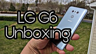 "**LG G6 - Unboxing Platinum color** The LG G6 is a new smartphone that was announced on Feb. 26th. It is the next generation of the LG G line of mobile phones. The LG G6 is designed to comfortably fit in one hand and features a 5.7"" display, dual 13 MP rear cameras, and a wide angle front camera. Learn more atLGNETWORK Technology GSM / CDMA / HSPA / LTELAUNCH Announced 2017, FebruaryStatus Available. Released 2017, MarchBODY Dimensions 148.9 x 71.9 x 7.9 mm (5.86 x 2.83 x 0.31 in)Weight 163 g (5.75 oz)Build Corning Gorilla Glass 5 back panelSIM Single SIM (Nano-SIM) or Dual SIM (Nano-SIM, dual stand-by)  - IP68 certified - dust/water proof over 1.5 meter and 30 minutes- Water resistant up to 1 meter and 30 minutesDISPLAY Type IPS LCD capacitive touchscreen, 16M colorsSize 5.7 inches (~78.6% screen-to-body ratio)Resolution 1440 x 2880 pixels (~564 ppi pixel density)Multitouch YesProtection Corning Gorilla Glass 3  - Dolby Vision/HDR10 compliant- Always-on display- LG UX 6.0 UIPLATFORM OS Android OS, v7.0 (Nougat)Chipset Qualcomm MSM8996 Snapdragon 821CPU Quad-core (2x2.35 GHz Kryo & 2x1.6 GHz Kryo)GPU Adreno 530MEMORY Card slot microSD, up to 256 GB (dedicated slot) - single SIMmicroSD, up to 256 GB (uses SIM 2 slot) - dual SIMInternal 32/64 GB, 4 GB RAMCAMERA Primary Dual 13 MP (f/1.8, OIS, 3-axis, phase detection AF) + 13 MP (f/2.4, no AF), dual-LED flash, check qualityFeatures 1/3"" sensor size, 1.12 µm pixel size, geo-tagging, touch focus, face detection, HDRVideo 2160p@30fps, 1080p@30/60fps, HDR, 24-bit/192kHz stereo sound rec., check qualitySecondary 5 MP, f/2.2, 1080pSOUND Alert types Vibration; MP3, WAV ringtonesLoudspeaker Yes3.5mm jack Yes  - 32-bit/192kHz audio- Active noise cancellation with dedicated micCOMMS WLAN Wi-Fi 802.11 a/b/g/n/ac, dual-band, Wi-Fi Direct, DLNA, hotspotBluetooth v4.2, A2DP, LE, aptX HDGPS Yes, with A-GPS, GLONASS, BDSNFC YesRadio FM radio (market dependent)USB v3.1, Type-C 1.0 reversible connector, USB On-The-GoFEATURES Sensors Fingerprint (rear-mounted), accelerometer, gyro, proximity, compass, barometerMessaging SMS(threaded view), MMS, Email, Push Mail, IMBrowser HTML5Java No  - WPC&PMA wireless charging (US version only)- Fast battery charging: 50% in 30 min (Quick Charge 3.0)- MP4/DviX/XviD/H.265 player- MP3/WAV/FLAC/eAAC+ player- Photo/video editor- Document editorBATTERY   Non-removable Li-Po 3300 mAh batteryMISC Colors Mystic white, astro black, ice platinumSAR EU 0.23 W/kg (head)     0.15 W/kg (body)    Price group 9/10"