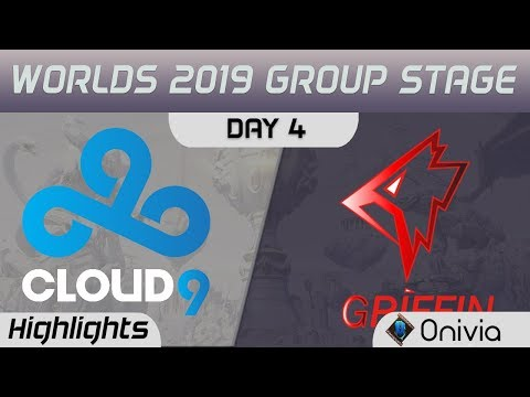 C9 vs GRF Highlights Worlds 2019