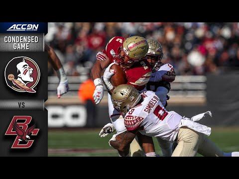 Florida State vs. Boston College Condensed Game | ACC Football 2019-20