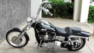 9. Harley-Davidson Dyna Wide Glide Ape Hangars & Vance & Hines Exhaust