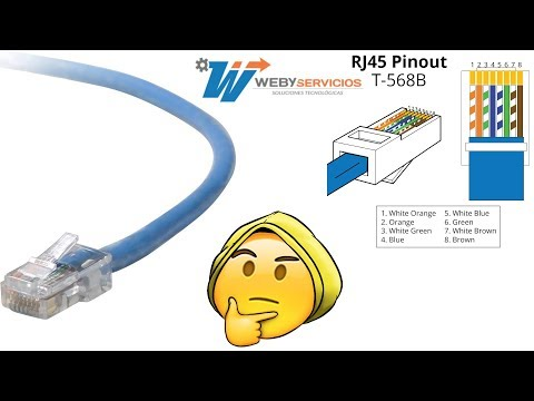 Cómo ponchar un cable de red RJ45 UTP y FTP