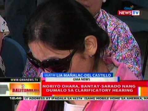 BT:  Gatdula, hindi dumalo sa clarificatory hearing ng kasong kidnappin vs sa kanya