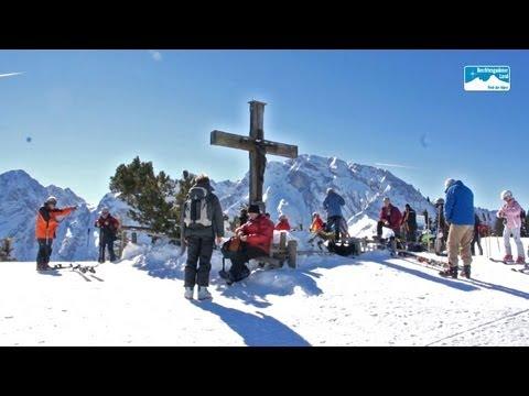 Skifahren in Bayern: Skigebiet Roßfeld in Berchtesgaden