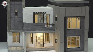 How To Make a Beautiful House(model) - Compilation.