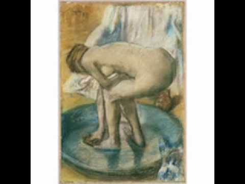 Degas, Woman Bathing In A Shallow Tub, 1885