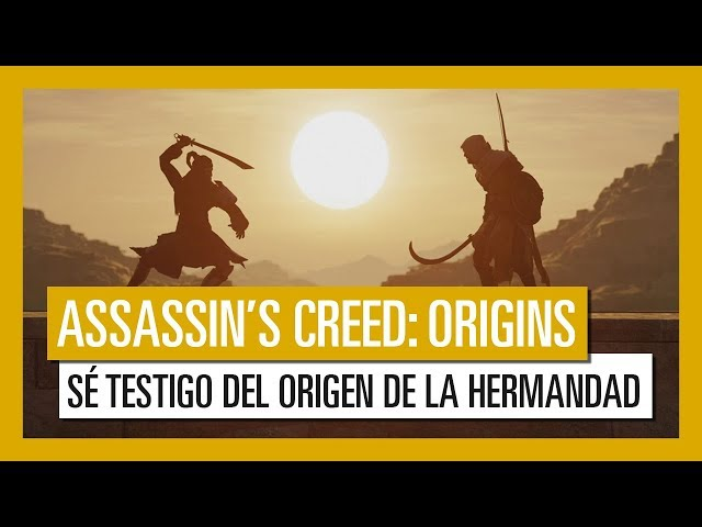 Assassin's Creed Origins: El Origen de la Hermandad