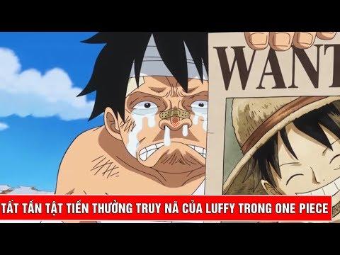 Tất tần tật tiền thưởng truy nã của Luffy trong One Piece - Thời lượng: 10:14.