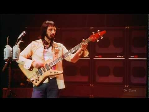 John Entwistle's isolated bass track from a performance of Won't Get Fooled Again. An untouchable genius at his peak