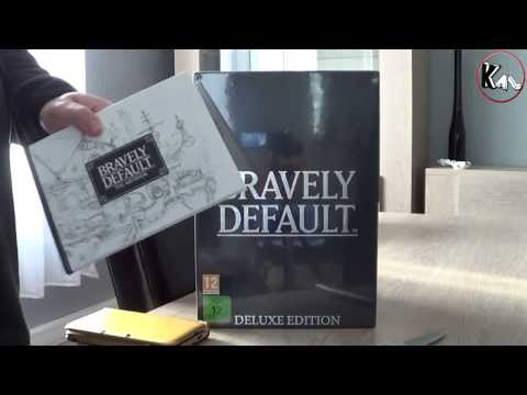Unboxing Bravely Default Deluxe Edition (Collector Pal)