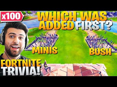 I Hosted a *100 PLAYER* EXPERT Fortnite Trivia Quiz Show! (Fortnite Battle Royale)