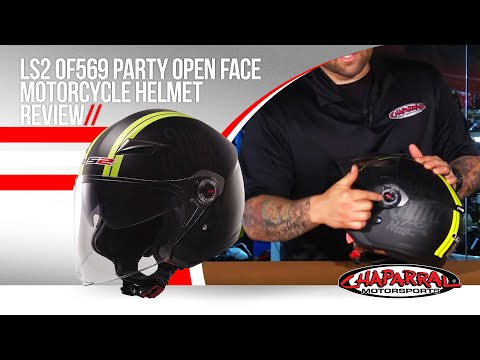 LS2 OF569 Party Open Face Motorcycle Helmet Review