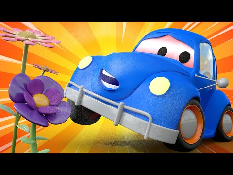Tom the Tow Truck's Car Wash -  Henry the old HERBIE Got Covered in POLLEN - Car City ! Cars cartoon