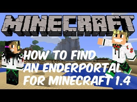 Minecraft - Finding an Ender Portal / Stronghold Tutorial