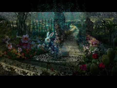 Imagens de feliz páscoa - White Rabbit - para uma páscoa psicodélica