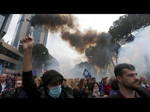 Νέα διαδήλωση κατά του Έντι Ράμα στα Τίρανα