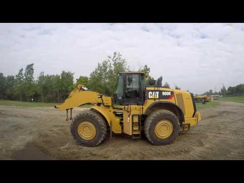 CATERPILLAR CARGADORES DE RUEDAS 980K equipment video 80jP0EkHvGE
