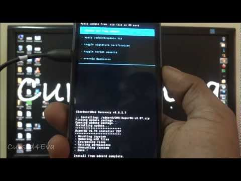 (HD) Root the HTC One X – Part 2/2 – Clockwork Mod and Superuser – Cursed4Eva