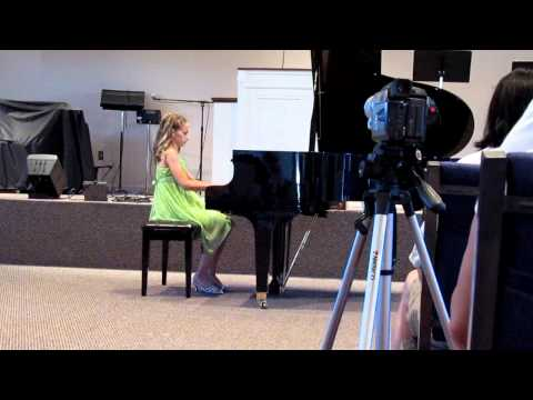 Abby Kaufman - Piano Recital June 2012 - Pirates of the Caribbean (видео)