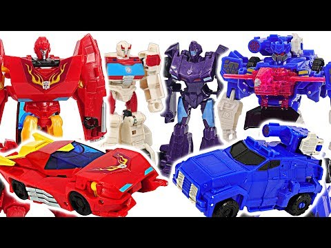 Transformers Cyberverse Hot Rod, Ratchet Vs Soundwave, Shadow Striker Battle! #dudupoptoy