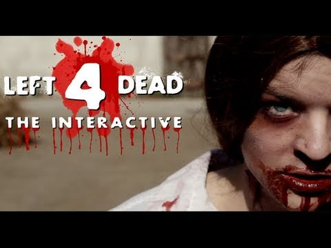 Interactive - A Zombie Survival Interactive based on the video game Left 4 Dead by Valve. Follow your favorite Game Station characters as they try to survive the zombie ap...