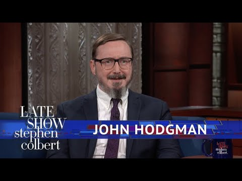 John Hodgman And Stephen Debate: Is A Hot Dog Is A Sandwich?