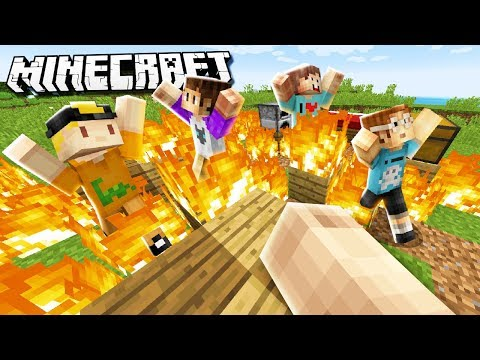 WE TRIED MAKING A NEW SURVIVAL SERIES... (Pals Minecraft Survival Fail)