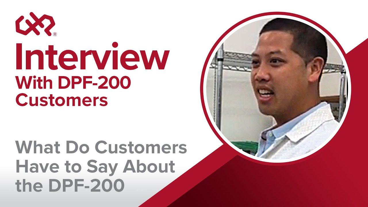DPF-200 Depaneling System Testimonial