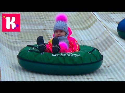 Подарки Кате на День Святого Николая ВЛОГ Резиденция Деда Мороза в Киеве St. Nicholas Toys & Gifts (видео)