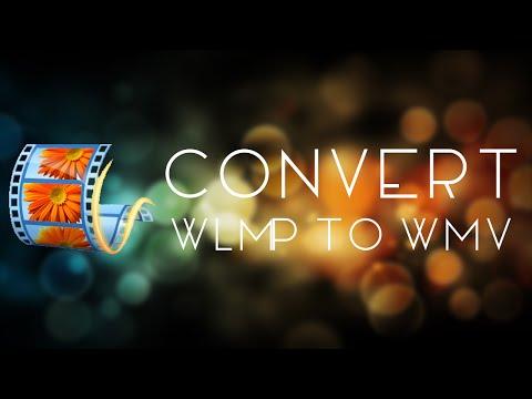 Convert .wlmp to .wmv (видео)