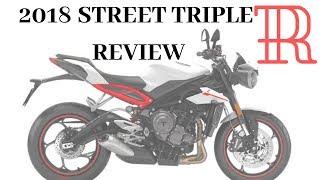 2. 2018 Triumph Street Triple R Review - first ride