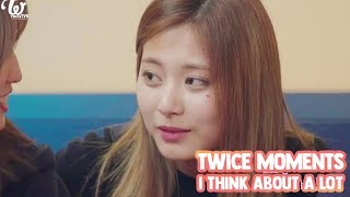 Video [ENG SUB] TWICE moments I think about a lot MP3, 3GP, MP4, WEBM, AVI, FLV September 2018