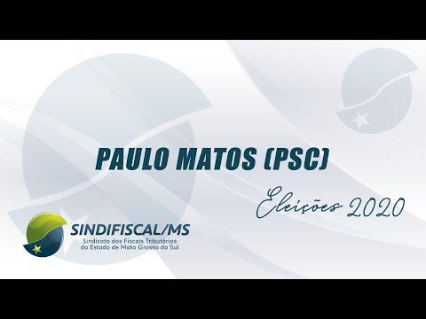 Entrevista com o candidato Paulo Matos (PSC)