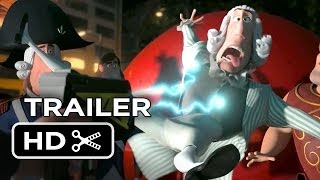 Mr. Peabody & Sherman Official Trailer #2 (2014) - Animated Movie HD